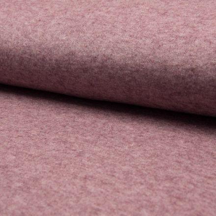 Tissu Maille Légère Rayonne  Chiné Rose - Par 10 cm