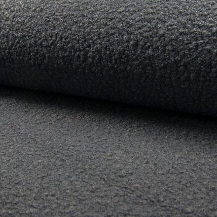 Tissu Lainage bouclettes Gris - Par 10 cm