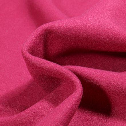 Tissu Drap de manteau Glasgow Rose fuchsia