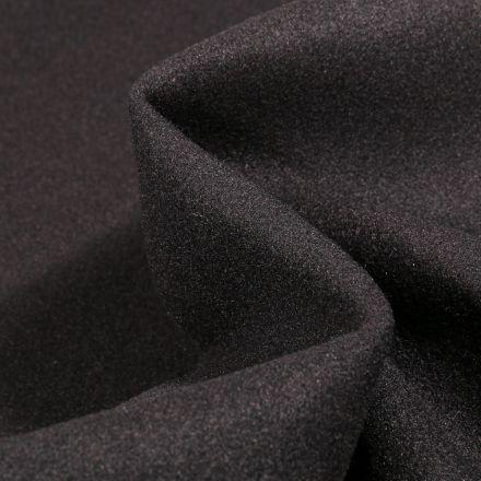 Tissu Drap de manteau Glasgow Noir