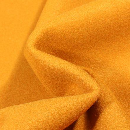 Tissu Drap de manteau Glasgow Jaune