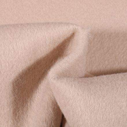 Tissu Drap de manteau épais Beige - Par 10 cm