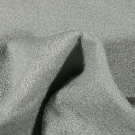 Tissu Drap de manteau épais Vert d'eau - Par 10 cm