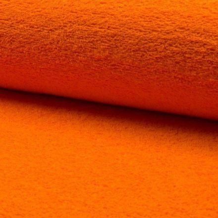 Tissu Eponge légère 320 g/m² Orange - Par 10 cm