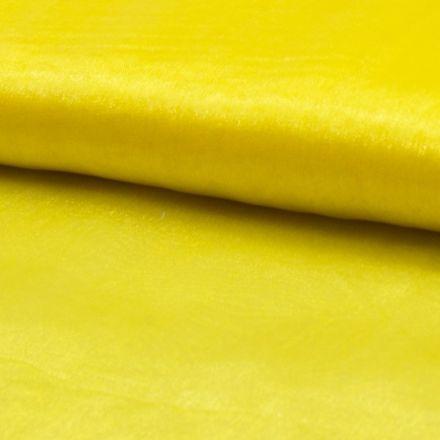 Tissu Organza Jaune x1m