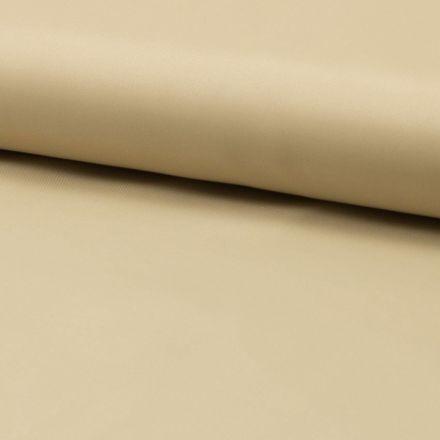 Tissu Doublure Uni Polyester Beige x10cm