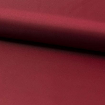 Tissu Doublure Uni Polyester Bordeaux x10cm