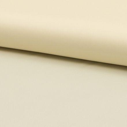 Tissu Doublure Uni Polyester Ecru x10cm