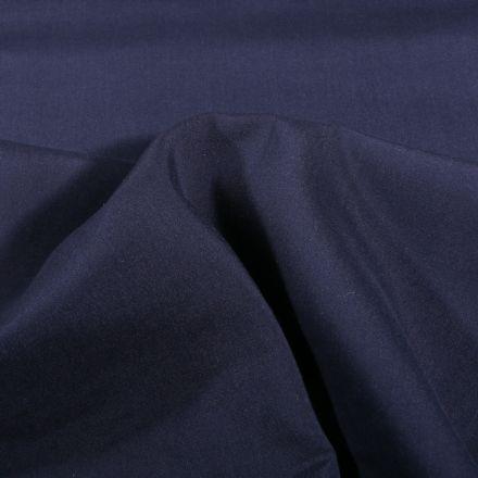 Tissu Viscose légère Bleu marine - Par 10 cm