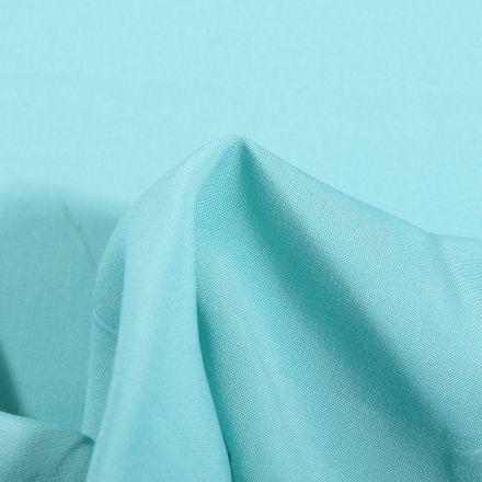 Tissu Viscose légère Bleu lagon