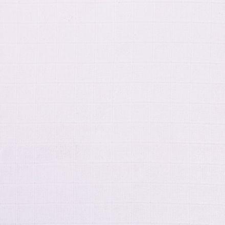 Tissu Lange Bébé Biologique Blanc - Par 10 cm