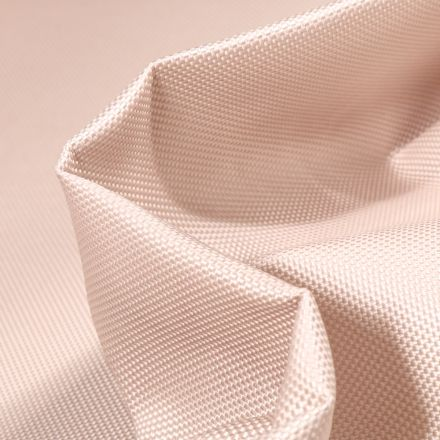 Tissu Toile imperméable uni Cocoon Beige