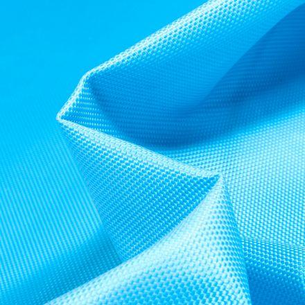 Tissu Toile imperméable uni Cocoon Bleu