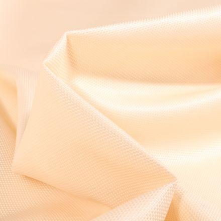 Tissu Toile imperméable uni Cocoon Ecru