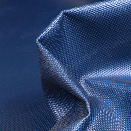 Tissu Toile imperméable uni Cocoon Bleu marine