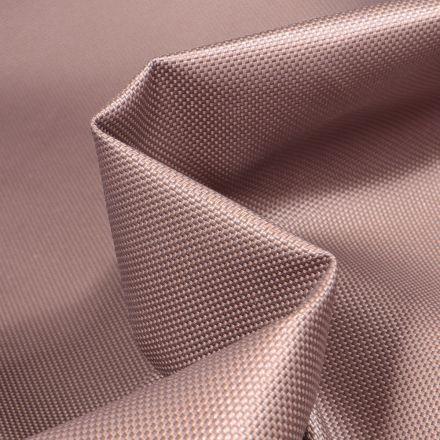 Tissu Toile imperméable uni Cocoon Taupe