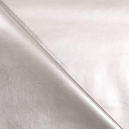 Toile cirée uni Perle - Par 10 cm