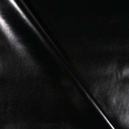 Toile cirée uni Noir - Par 10 cm