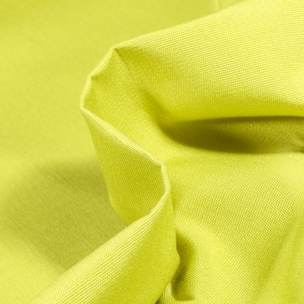 Tissu Toile extérieure uni Dralon Vert anis