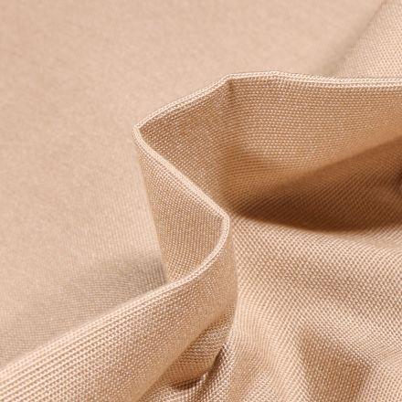Tissu Toile extérieure uni Dralon Beige