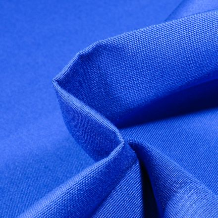 Tissu Toile extérieure uni Dralon Bleu roi