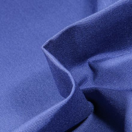 Tissu Toile extérieure uni Dralon Bleu marine