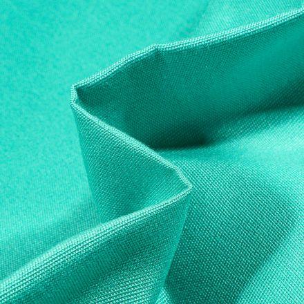 Tissu Toile extérieure uni Dralon Bleu lagon