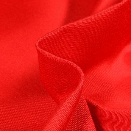 Tissu Toile extérieure uni Dralon Rouge