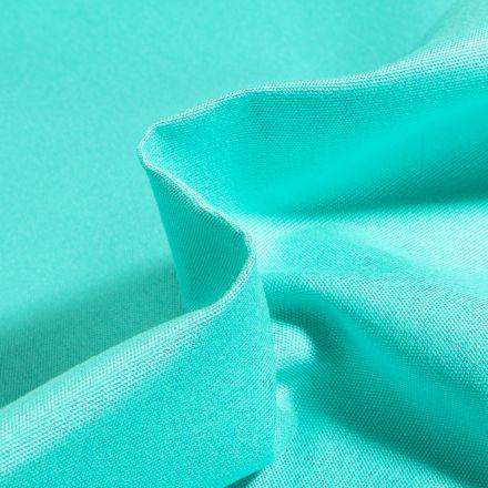 Tissu Toile extérieure uni Dralon Vert menthe