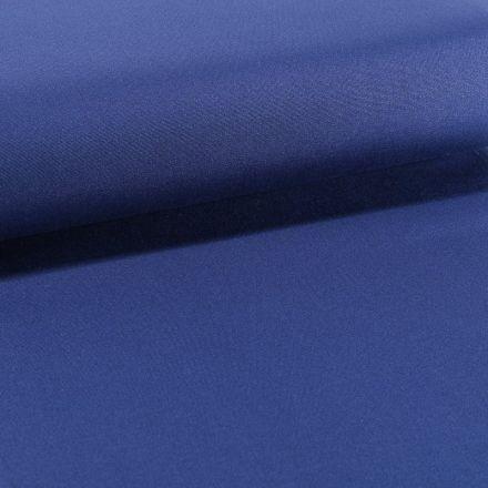 Tissu Toile Transat uni Bleu navy - Par 10 cm