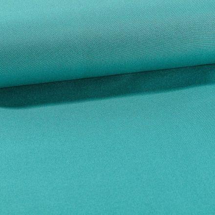 Tissu Toile Transat uni Lagon - Par 10 cm