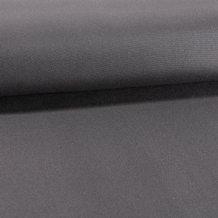 Tissu Toile Transat uni Gris Orage - Par 10 cm
