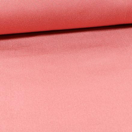 Tissu Toile Transat uni Rose blush