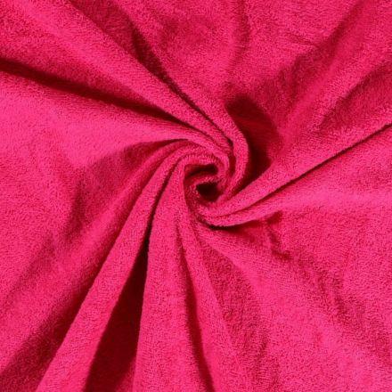 Tissu Eponge Deluxe Rose fuchsia - Par 10 cm