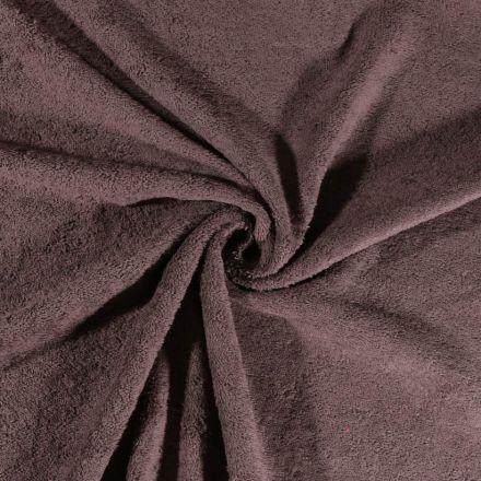 Tissu Eponge Deluxe Gris foncé - Par 10 cm