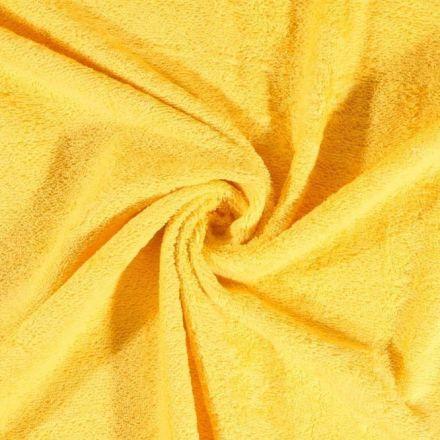 Tissu Eponge Deluxe Jaune - Par 10 cm