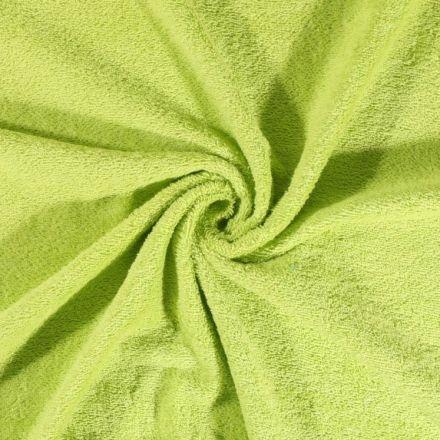 Tissu Eponge Deluxe Vert vif - Par 10 cm