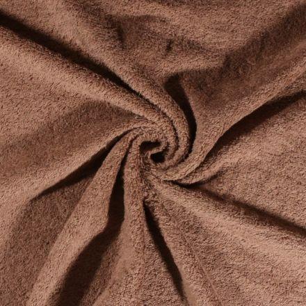 Tissu Eponge Deluxe Taupe - Par 10 cm