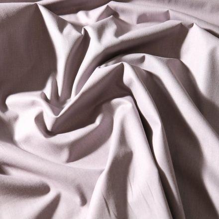 Tissu Coton uni Grande largeur 280cm Santorin Gris acier - Par 10 cm