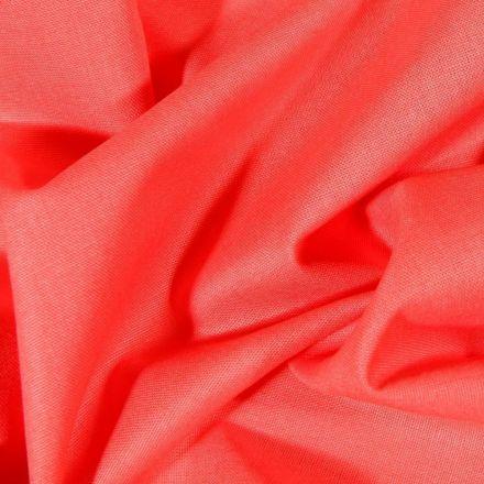 Tissu Coton uni Grande largeur 280cm Santorin Rose bonbon - Par 10 cm