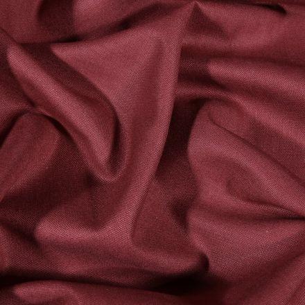 Tissu Coton uni Grande largeur 280cm Santorin Bordeaux foncé - Par 10 cm