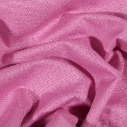 Tissu Coton uni Grande largeur 280cm Santorin Violine - Par 10 cm