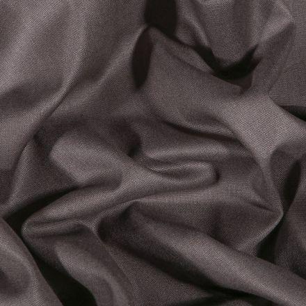 Tissu Coton uni Grande largeur 280cm Santorin Gris anthracite - Par 10 cm