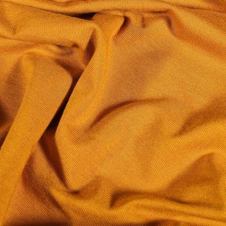 Tissu Jersey Viscose uni Jaune - Par 10 cm
