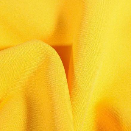 Tissu Burlington Jaune - Par 10 cm