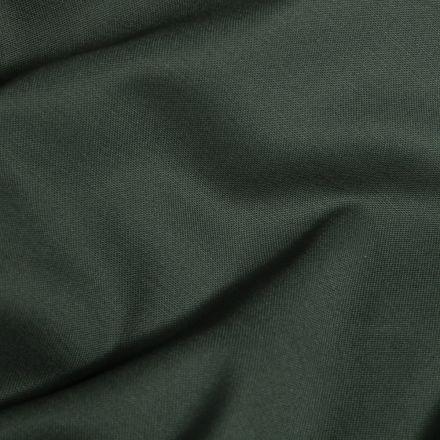 Tissu Coton Satiné extensible Vert foncé - Par 10 cm