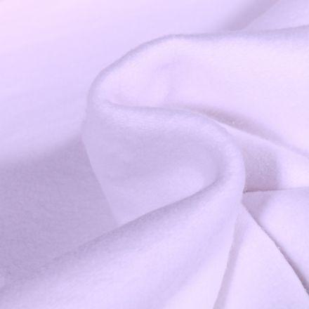 Tissu Flanelle de coton épais Blanc