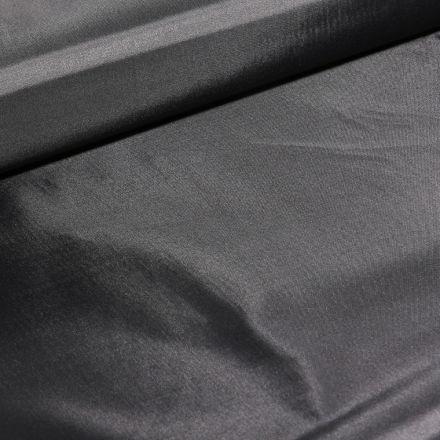 Tissu Black out léger Noir