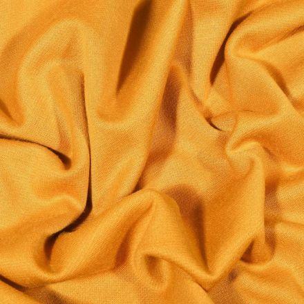 Tissu Jersey Milano uni Ocre - Par 10 cm