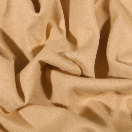 Tissu Jersey Milano uni Beige - Par 10 cm